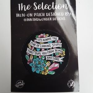 FairyLoot The Selection Iron-On Patch